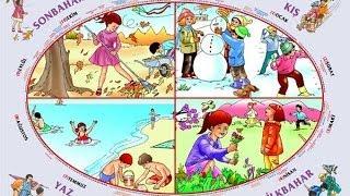 Mevsimler Şarkısı + Şarkı Sözü - çocuk şarkısı