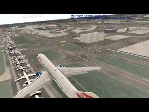 Real flight simulator - смотреть онлайн на Hah Life