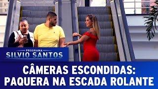 Paquera na Escada Rolante - Love Escalator Prank | Câmeras Escondidas (11/06/17)