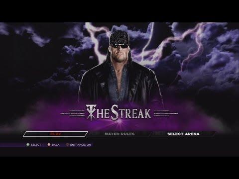 WWE 2K14 - DEFEND THE STREAK - THE AMERICAN BADASS UNDERTAKER