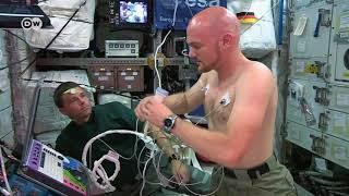 Astronauta testa tecnologias para viagens a Marte