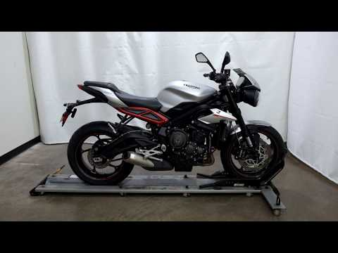 2018 Triumph Street Triple R in Eden Prairie, Minnesota - Video 1