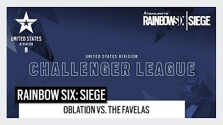 Rainbow Six Esports: North American Challenger League 2020 Play Day 5 - Oblation vs. The Favelas