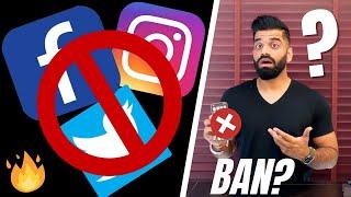 Facebook, Twitter, Instagram - Blocked in 2 Days?🔥🔥🔥 - TWITTER,