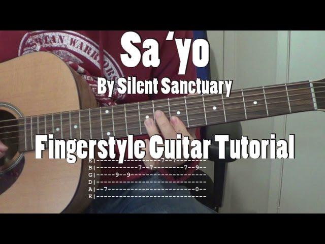 Guitar guitar chords sayo : Guitar Tutorial Sa Yo With | Free MP3 Download