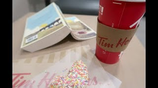 Tim Hortons Fab New Drink