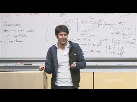 Lecture 11 - Introduction to Neural Networks | Stanford CS229: Machine Learning (Autumn 2018)