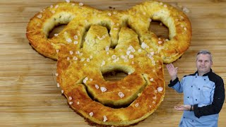 Mickey Mouse Pretzels | How To Make Disney Treats