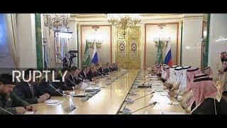 LIVE:RussiaandSaudiArabiasetfornegotiationsaheadofsigningofbilateralagreements
