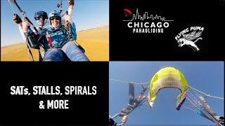 SATs, Stalls, Spirals & More | Chicago Paragliding
