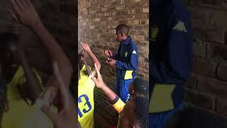 Wits U23 Singing Manana Yekela