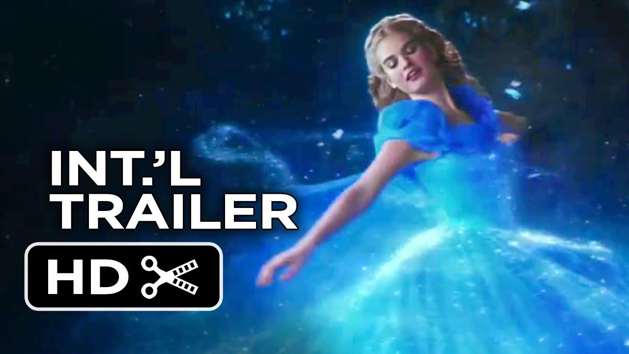 Cinderella International TRAILER 2 (2015) – Lily James, Helena Bonham Carter Disney Movie HD