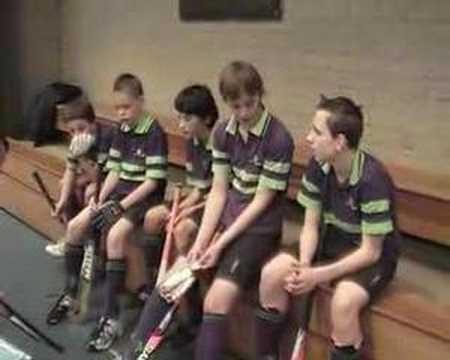 Zaalhockey HCE JC2 - Boxmeer JC1