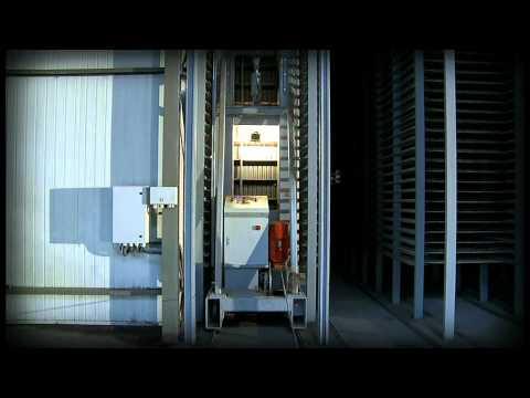 Techmatik - Urządzenia piętrujące i rozpiętrowujące z wózkami transportującymi / Transporting cars - zdjęcie