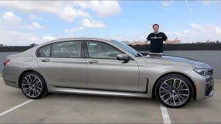 BMW 750i 2020 года - это новый флагманский люксовый седан BMW