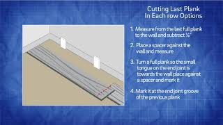 Cutting and Measuring Plank Flooring for Installation | Tips and Tricks