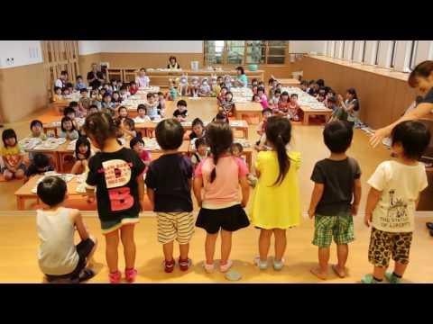 平成28年度 みなみ保育園 誕生日会食会(7月)