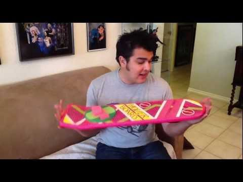 Back to the Future Hoverboard Mattel prop replica review