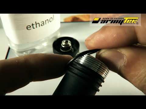 Richtige Pflege der Taschenlampen von Armytek