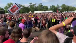 The Village People Live   YMCA Wall Of Death 4K