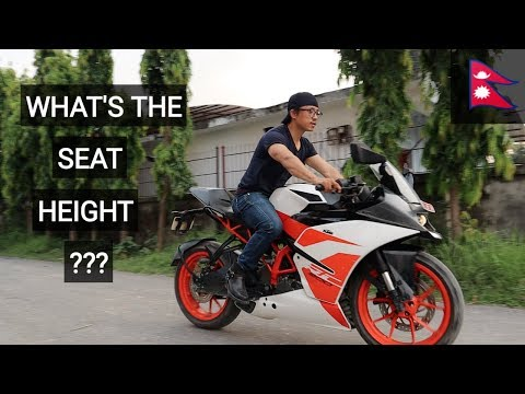 Short Rider on KTM RC 200 || RC 200 Test Ride Review Nepal 🇳🇵