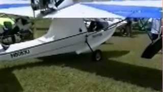 Aventura amphibious ultralight aircraft.