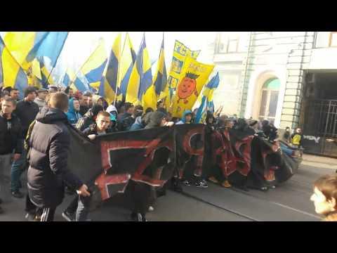 Это Харьков,детка! Путин хуйло! ФК МеталлистШахтер