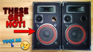 These Speakers Get REAL HOT !