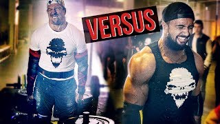 POWERLIFTER vs ALLROUNDER ATHLETE - Iron Mike VS Pascal - Strength Wars League 2k17 #4