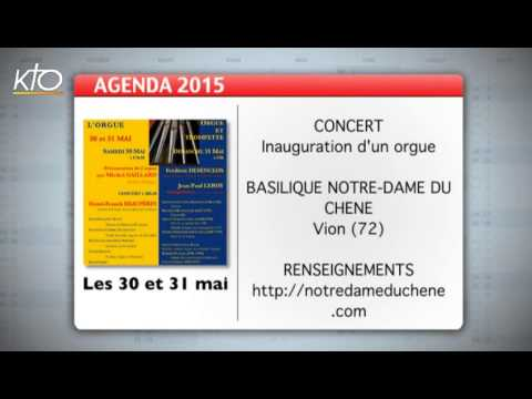 Agenda du 22 mai 2015