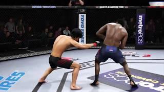 Bruce Lee vs. Charles Bennett (EA Sports UFC 3) - CPU vs. CPU