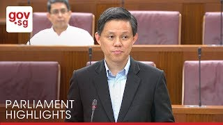 Minister Chan Chun Sing addressed queries about cost of living