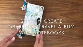 Graphic 45 Travel Album with Note Books