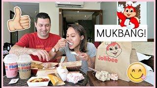 JOLLIBEE MUKBANG + Q&A (WEDDING IN PHILIPPINES + BABIES?) 😍❤️ | rhaze