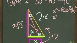 Geometry 8.2 Special Right Triangles Part 2