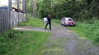 Парашют Американка с кольцом Фрисби Ø4м яч-12мм (Леска) от компании Затарься по полной! - видео