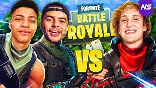 TSM MYTH AND I BEAT LOGAN PAUL IN A FORTNITE TOURNAMENT!