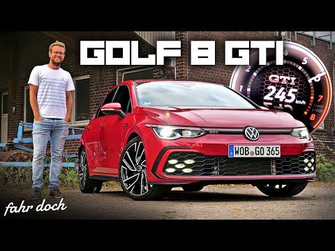 Da ist er! VW GOLF GTI 8 2020 POV REVIEW | 0-100 km/h | 100-200 km/h | SOUND | Fahr doch