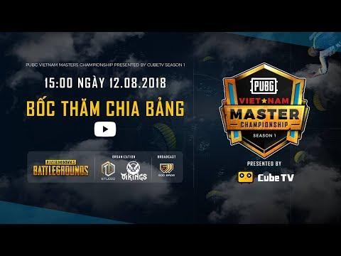 Lịch thi đấu VMC pubg 2018 Vietnam Masters Championship season 1 mới nhất
