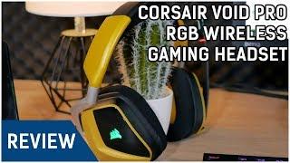 Corsair Void Pro RGB Wireless Gaming Headset Review - GUTER SOUND OHNE KABEL (+ Mic Test)