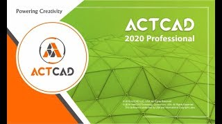ActCAD 2020 Professional-video