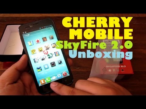 "Cherry Mobile SkyFire 2.0 Unboxing - Quad-Core Snapdragon Android With 5.0"" IPS Screen For PHP 7,999"