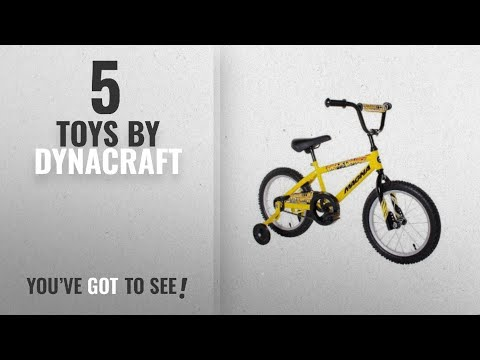 Top 10 Dynacraft Toys [2018]: Dynacraft Magna Major Damage Boys BMX Street/Dirt Bike 16