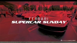 Ferrari Day 2015 at Supercar Sunday Presented by The Auto Gallery