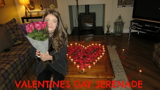 This weeks vlog is here I surprised hol for valentines and sang