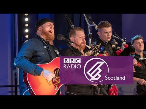 See Red Hot Chilli Pipers perform their 'bagrock'     and no