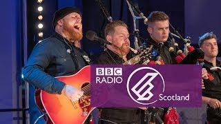 Tom Walker & Red Hot Chilli Pipers   Leave A Light On (The Quay Sessions)