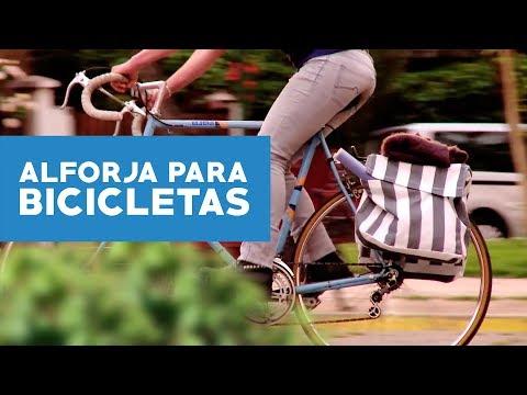 ¿Cómo hacer una alforja para bicicleta?