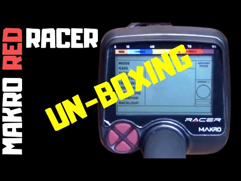 Makro Racer Metal Detector - Closer Look