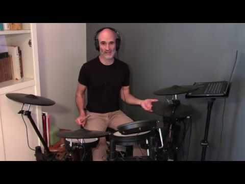 Check out this video to learn your first drum beat!